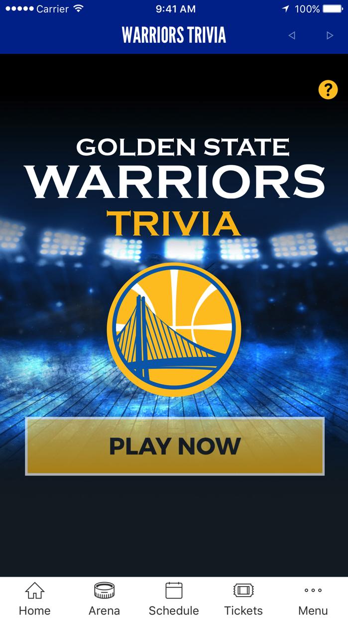 Golden State Warriors Screenshot