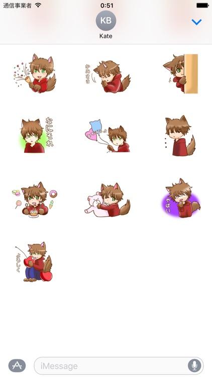 Kawaii Kemono Sticker screenshot-3