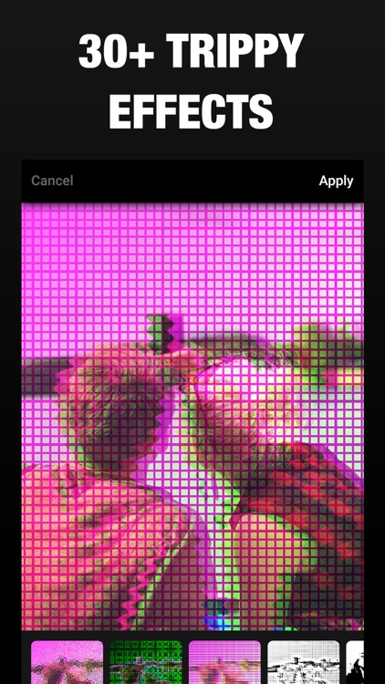 3D Effect- Glitch Camera Photo screenshot-3