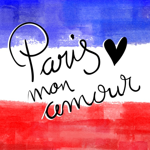 I love Paris Stickerpack - Paris mon amour icon