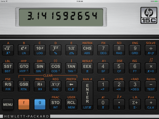HP 15C Calculator | App Price Drops