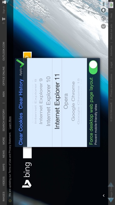 Perfect® Browser (Legacy) Скриншоты7
