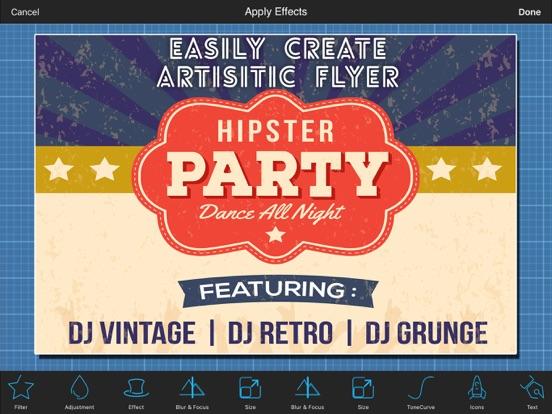 party flyer creator app price drops