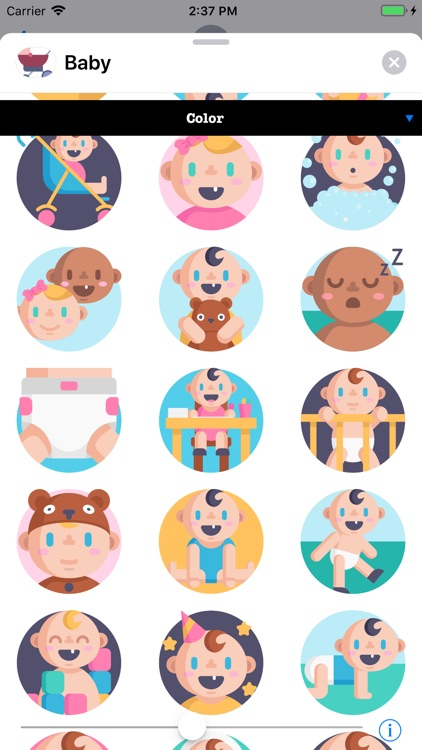 Infant Baby Stickers screenshot-2