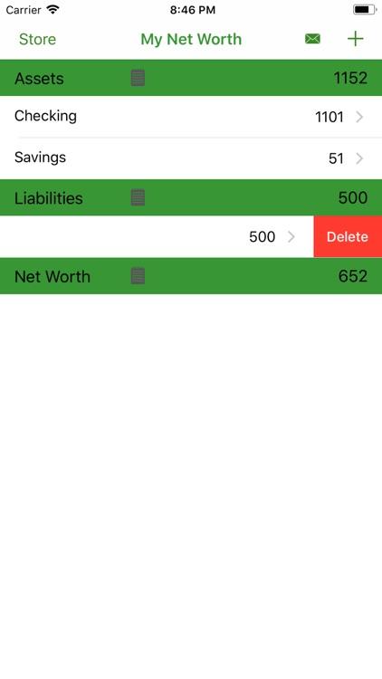 My Net Worth Cloud screenshot-3