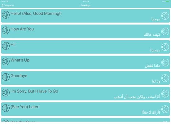 تعلم اللغة الانجليزية والعربية screenshot 5