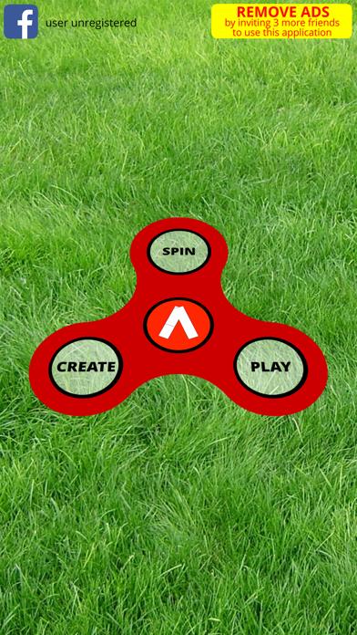 fidget spinner challenge screenshot one