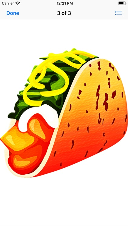 Tasty Taco Stickers screenshot-5