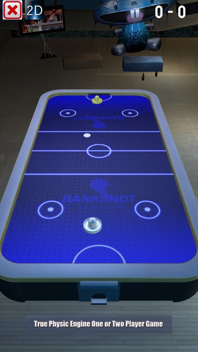 Real 3D Air Hockey Pro Screenshot