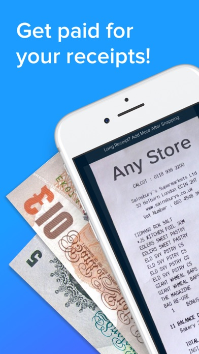 Receipt Hog Get Paid To Shop By InfoScout IOS United Kingdom - Get paid for receipts