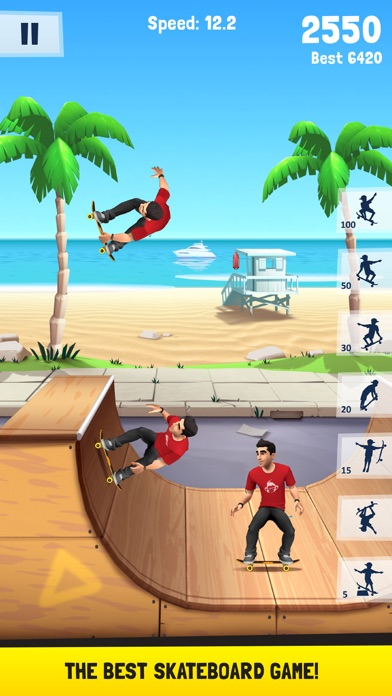 Screenshot for Flip Skater in United States App Store