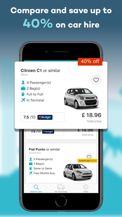 Holiday Autos – Car Hire by eTrawler (iOS, United States