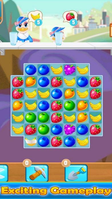 Match Fruit Father Farm Screenshot on iOS