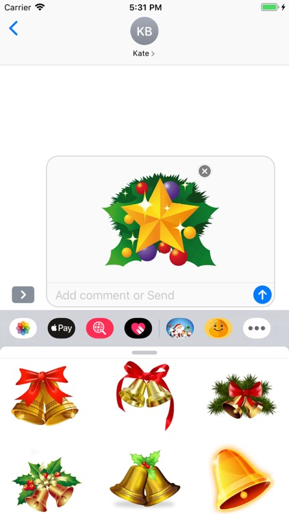 Christmoji - Christmas Sticker screenshot-6