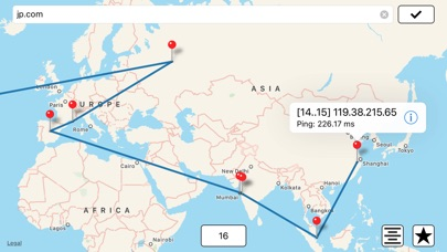 Intrace: Visual Traceroute Screenshots