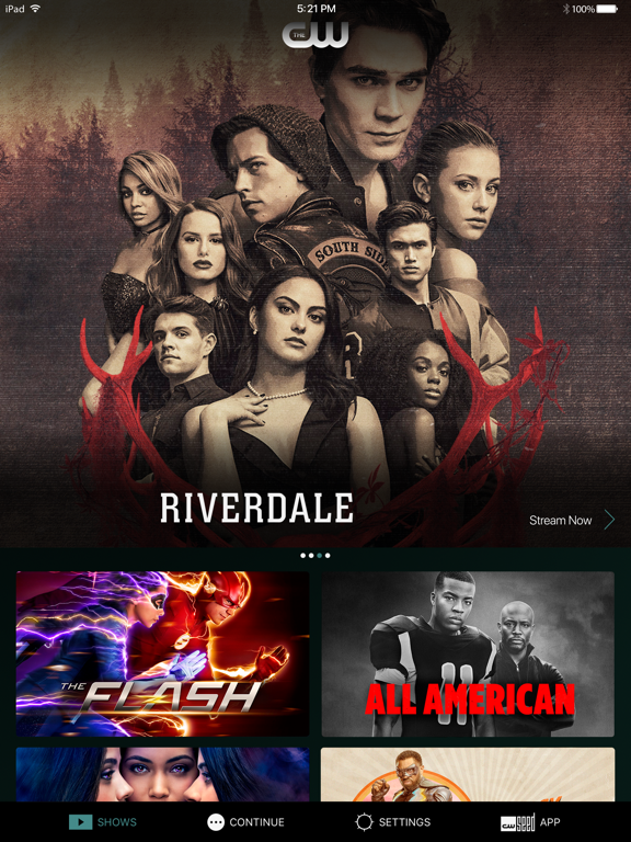 The CW by The CW Network (iOS, United States) - SearchMan