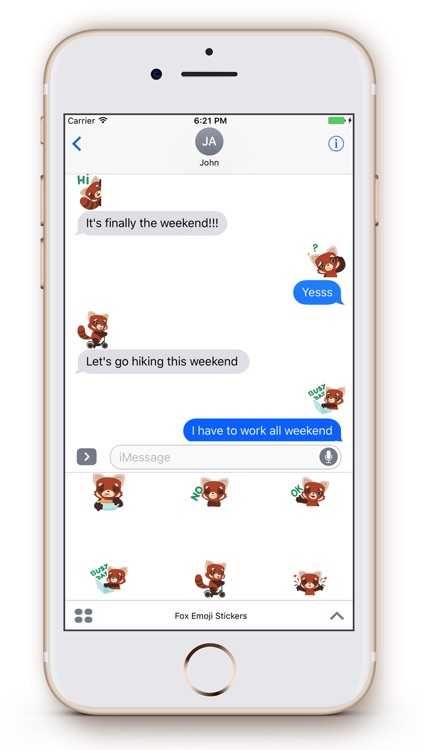Fox Emoji Stickers screenshot-3