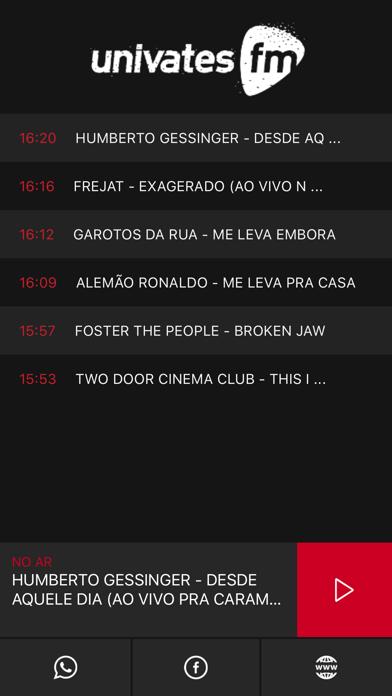Rádio Univates screenshot two