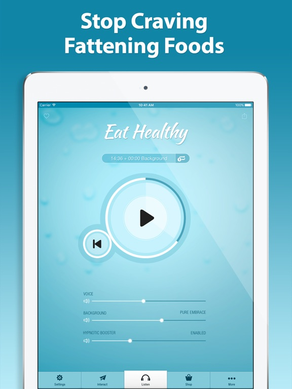 Screenshot #4 pour Eat Healthy Hypnosis