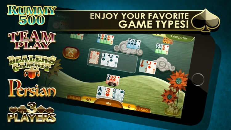 Rummy 500 screenshot-1