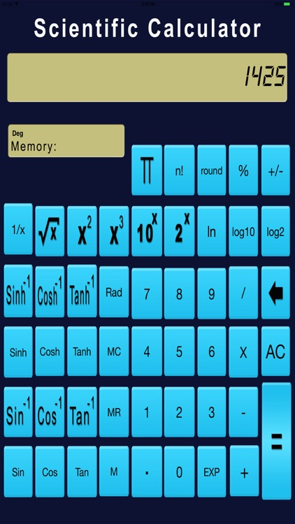 Real Scientific Calculator screenshot-3