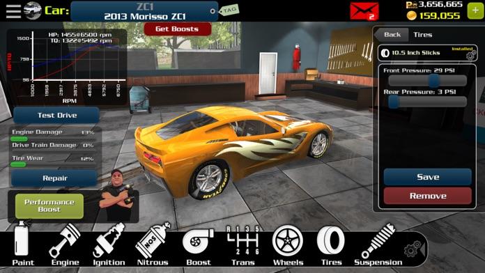 EV3 - Multiplayer Drag Racing Screenshot