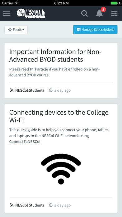 MyNESCol Hub screenshot 3