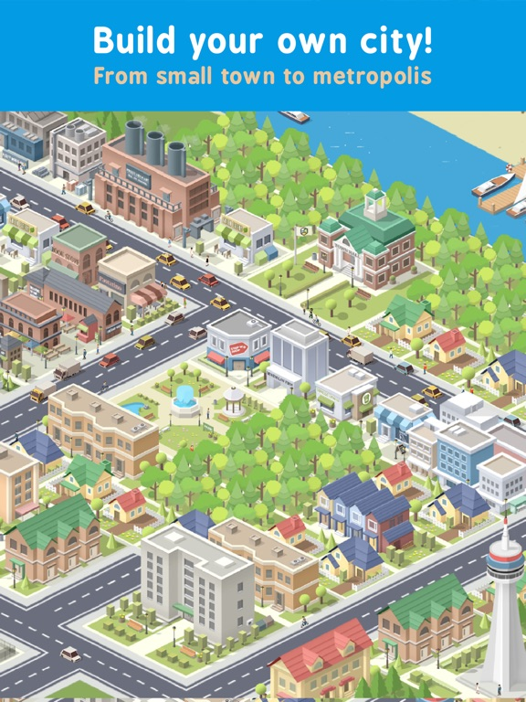 Screenshot 1 Pocket City