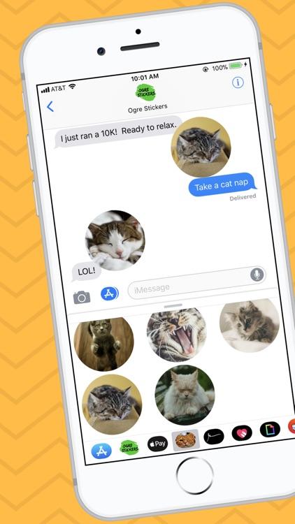 Cat Sticker App screenshot-3