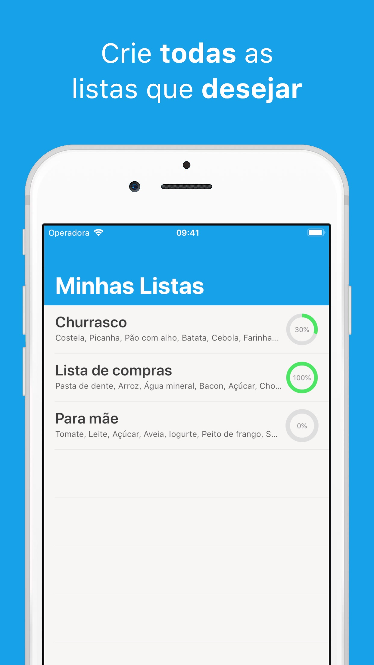 Screenshot do app Remember To Buy!