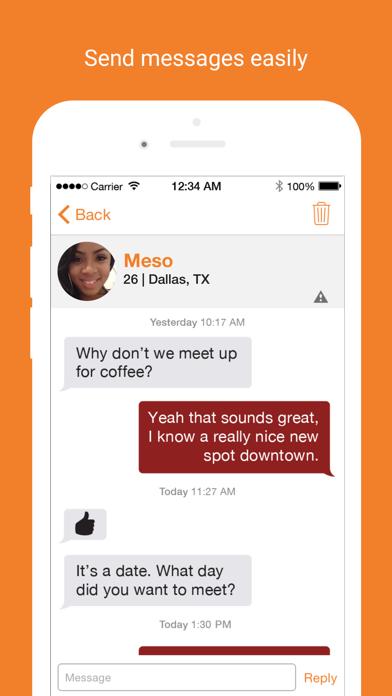 Black People Meet app image