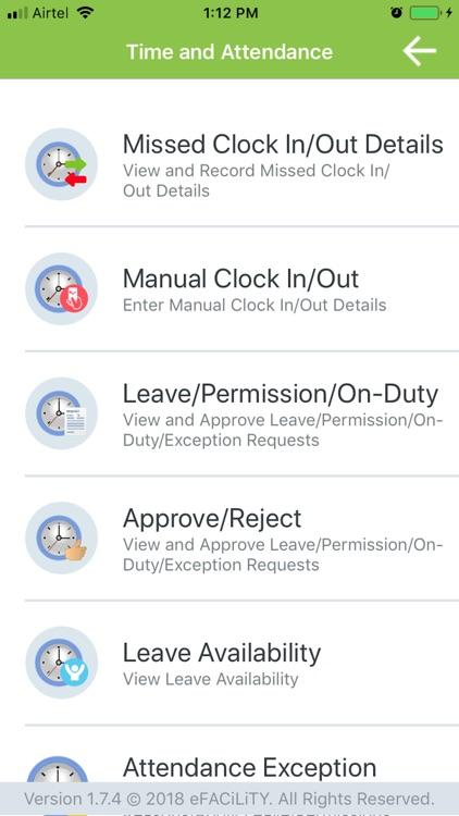 eFACiLiTY® Smart Facility App screenshot-5