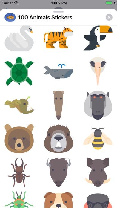 150+ Animals Stickers screenshot 3