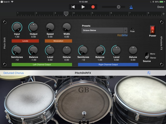 Pitch Shifter AUv3 Plugin screenshot 5
