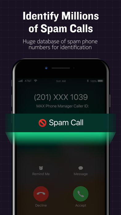 MAX Phone Manager Screenshot