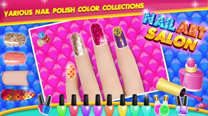 Nail Art Salon - Nail Care screenshot 1