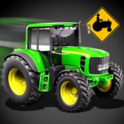 三维农用拖拉机停车模拟器