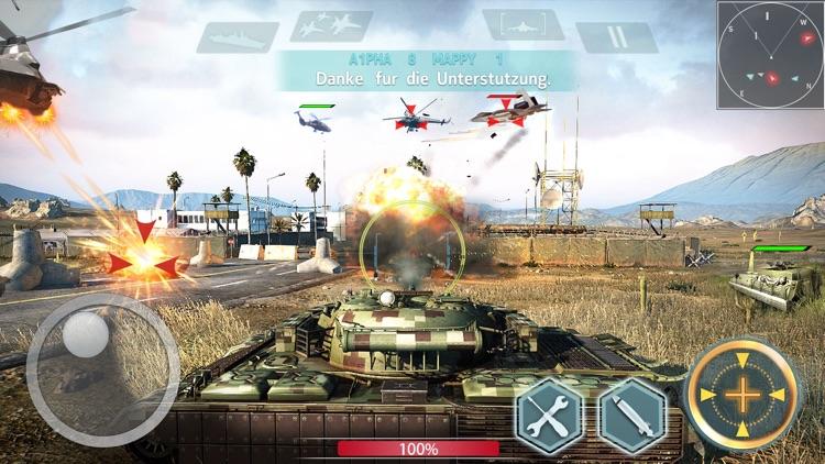陆空战争 -飞机坦克大战