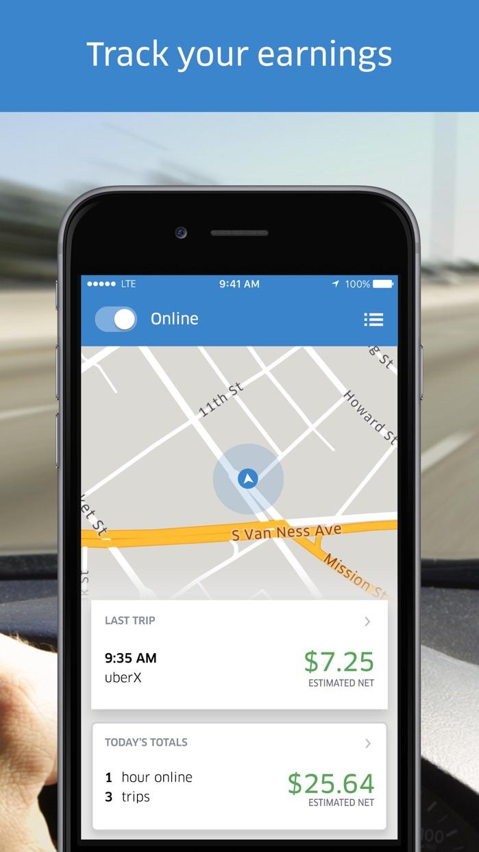 Uber Driver Screenshot