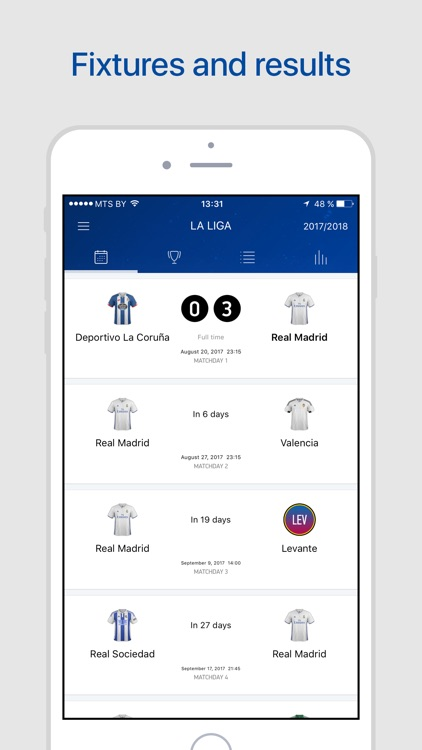Real Live – Scores & Results. screenshot-3