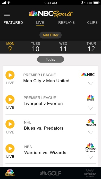 NBC Sports for Windows