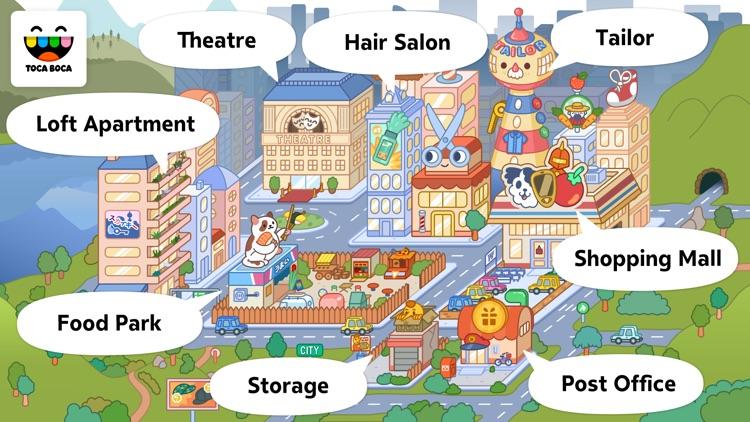 Toca Life: City screenshot-4