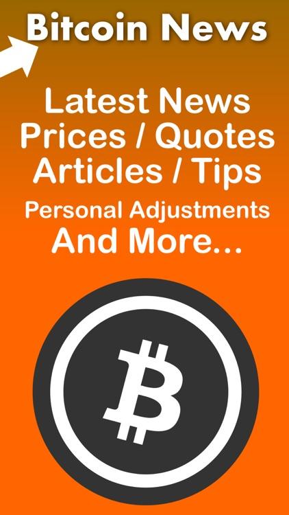 Bitcoin News App & rss reader