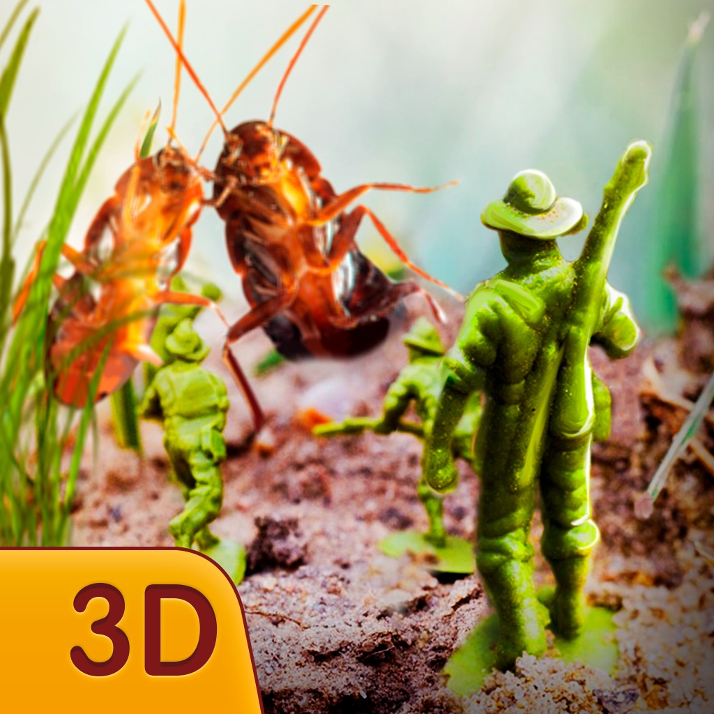 Army Toy Men vs Cockroaches hack