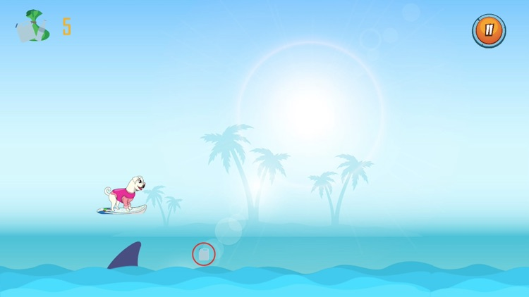 Surf Gidget the Pug screenshot-0