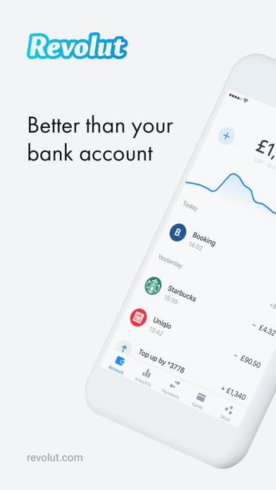 Screenshot for Revolut - Beyond Banking in Viet Nam App Store