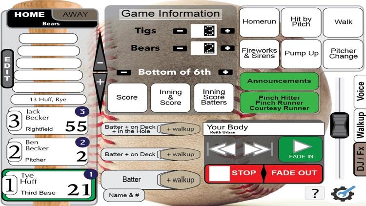 Gametime Announcer Travel Team screenshot-6