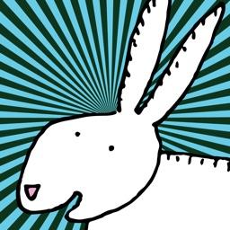 Happy Rabbits Stickers