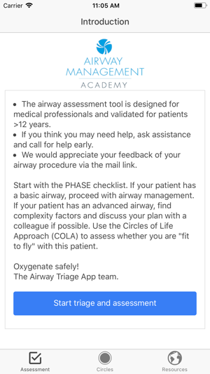 airway triage on the app store