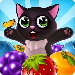 Fruit Cat Pop - bubble shooter